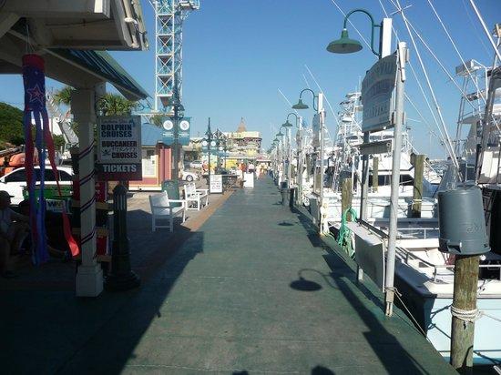 HarborWalk Marina: Fishing boats along the Harborwalk...so pretty!