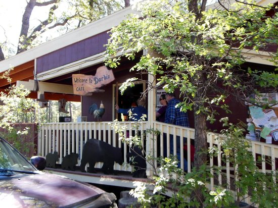 Darbi's Cafe: The front of Darbi's