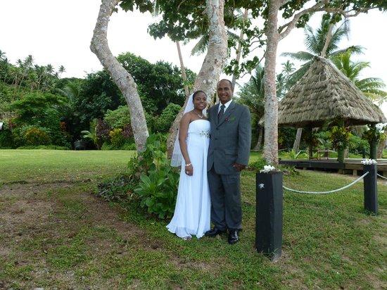 Daku Resort: Our wedding day