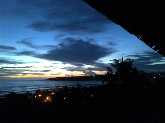 Hotel Casa de las Iguanas: Atardecer / Sunset view