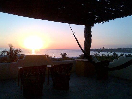 Hotel Casa de las Iguanas: Terraza / terrace
