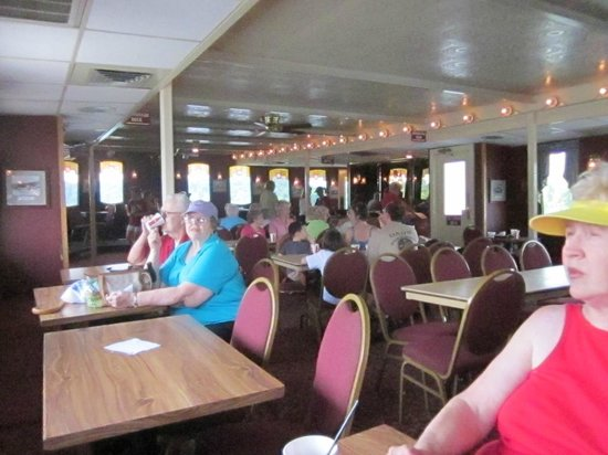 The Delta Queen Is An American Sternwheel Steamboat That