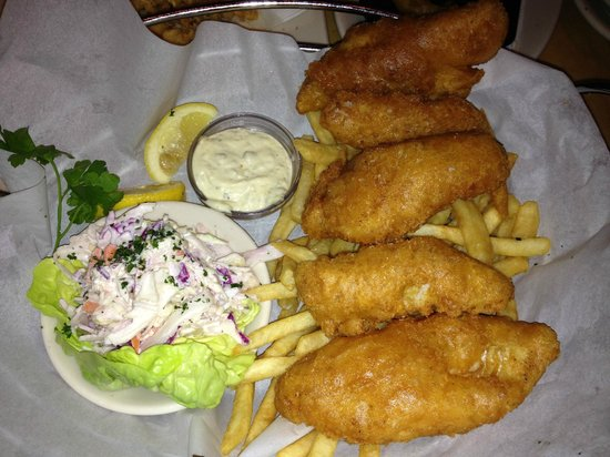 The Cheesecake Factory: Fish and chips
