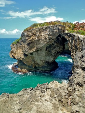 Arecibo, Puerto Rico: The view heading to the caves