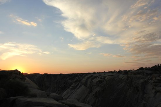 Augrabies Falls National Park: Sunset at Augrabies