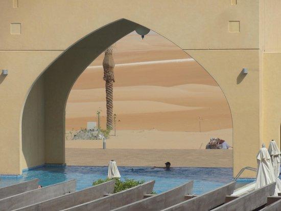 Tilal Liwa Hotel: Absolutely magical scene !