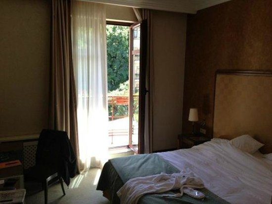 Boutique Hotel Riviera on Podol: Room with a view
