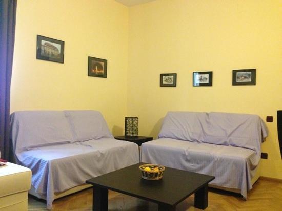 Casa Vacanza Brasov: living room