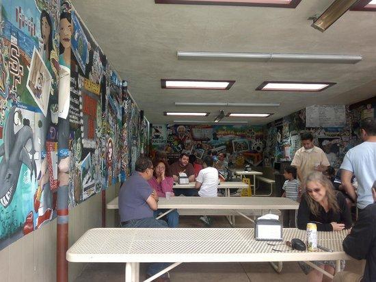 Falafel Drive-In: Artwork