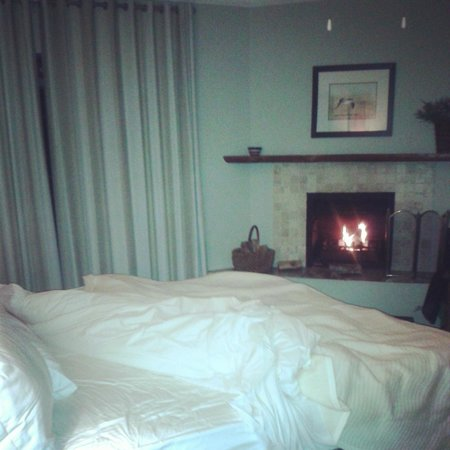 Fynbos Ridge Country House & Cottages: Main bedroom in cottage