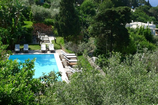 La Minerva: The pool - from our room