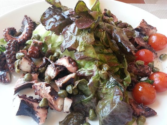Don Vito Pizza & Pasta House: Octopus Salad (cold)