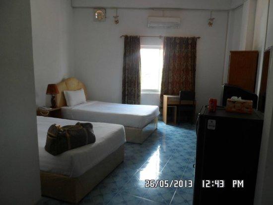 Mekong Sunshine Hotel: bed room