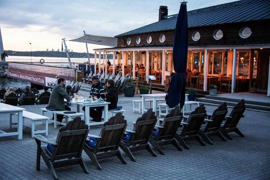 Hotel J: Restaurant J, Nacka Strand