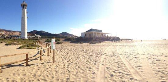 Hotel Faro Jandia & Spa: Lunch restaurant on the beach
