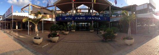 Hotel Faro Jandia & Spa: Entrance