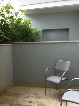 Mercure Pesaro: Balkon des Zimmer