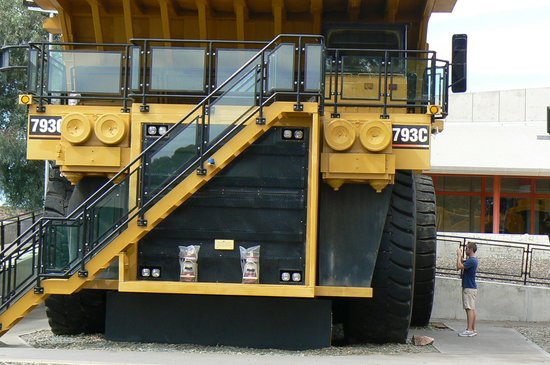Mining Hall of Fame: A 200-tonne ore haul truck from the Superpit