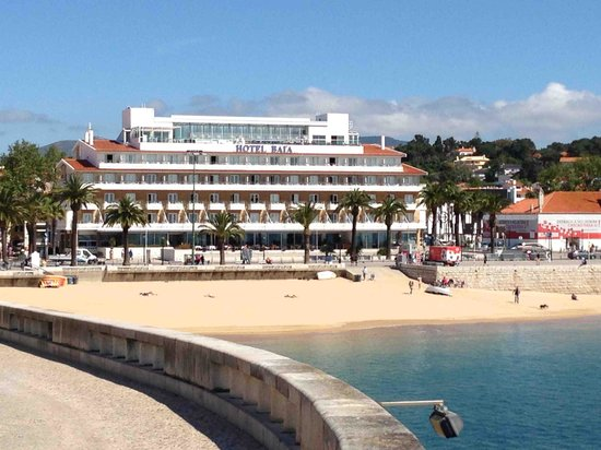 View of Hotel Baia from Harbour Walk