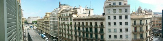 H10 Universitat Hotel: View from room 612