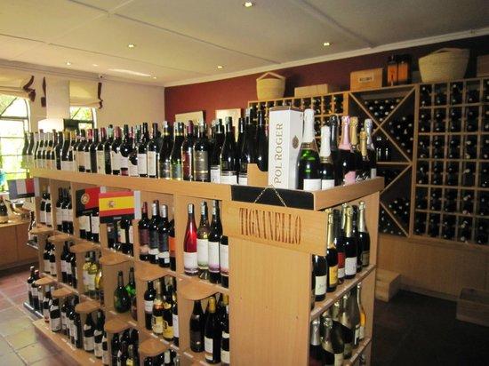 Le Rustique: Wine cellar