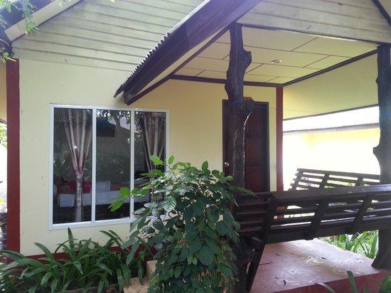 Lanta Riviera Resort: een van de huisjes.