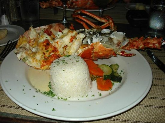 Coconut Beach Club: Delicious lobster Thanks T