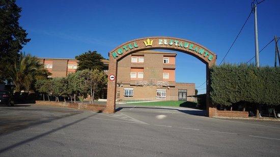 La Paz: Infarten till hotellet