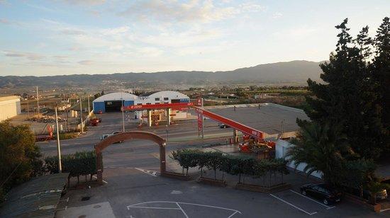 La Paz: Utsikten från vår dubbelrum