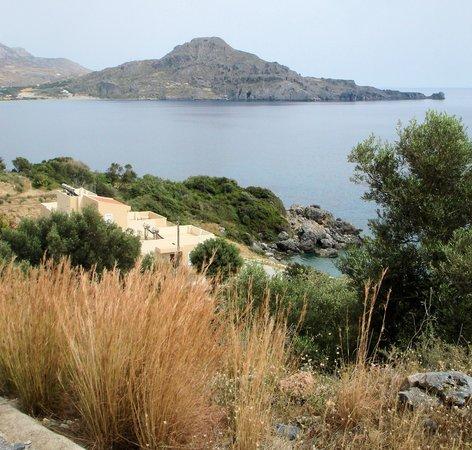 Creta-Spirit Apartments: from above