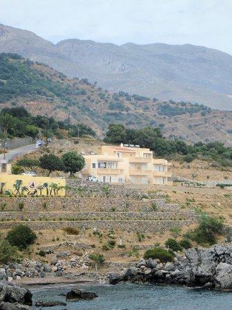 Creta-Spirit Apartments: from west