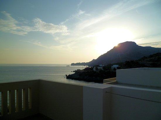 Creta-Spirit Apartments: sunset over Dragon's Head