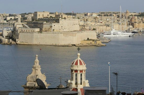 Valletta Studios: View from our room