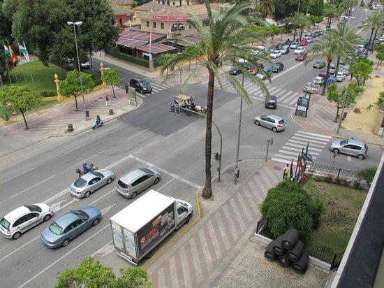 NH Avenida Jerez: View from the balcony