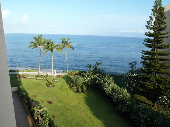 Royal Kahana: View from our Lanai