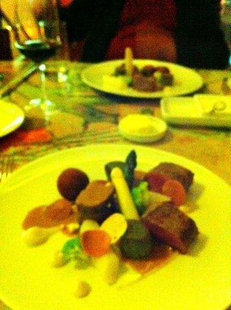 Kruisherenrestaurant: Le plat