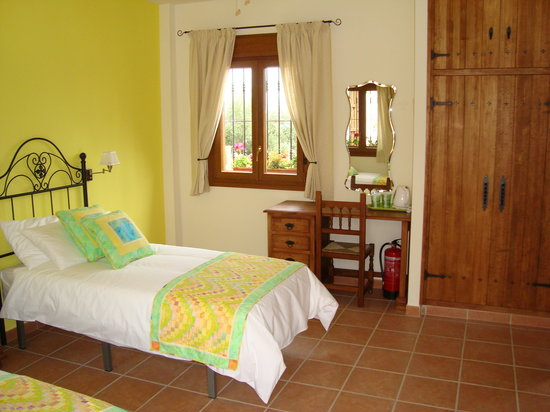 Brazos Abiertos Casa Rural: Beds can be king size or single