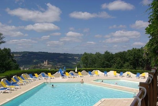 VVF Villages Hauts de Najac : piscine