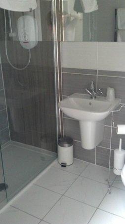 Castle Arms Hotel: Bathroom