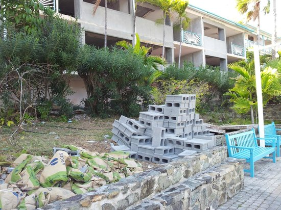 Princess Port de Plaisance Resort and Casino: travaux
