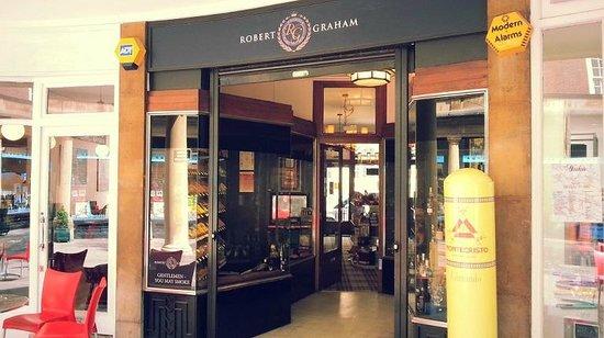 Robert Graham Ltd Est 1874: Front of the shop