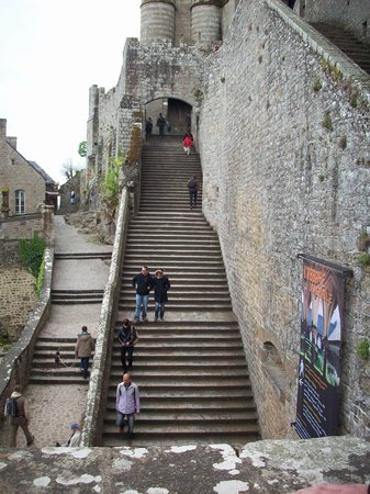 Les Cresnays, Prancis: St Mont Michel, wear comfy shoes