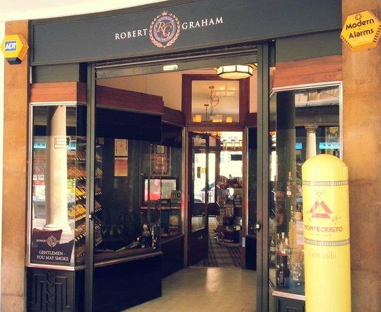 Robert Graham Ltd Est 1874: Whisky & Cigar Emporium in Cambridge
