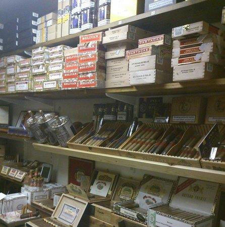 Robert Graham Ltd Est 1874: Walk in Humidor in the Cambridge Tobacconist