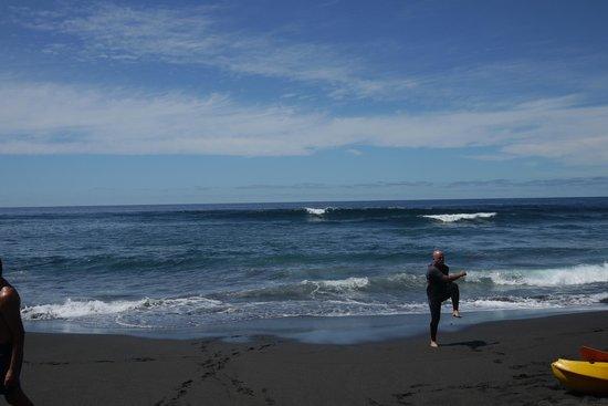 Pure Riders Surf camp: Playa de socorro (nord de l'île)