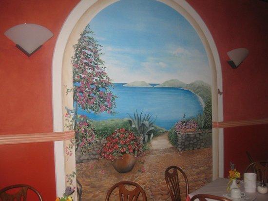 Hotel Calypso: Frühstücksbereich