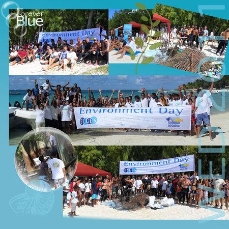 Blues Diving Centre : BLUES PARTICIPE A DES ACTIONS POUR L'ENVIRONNEMENT