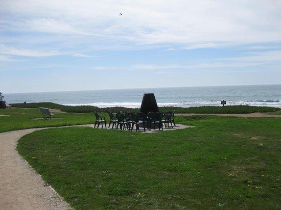 Cavalier Oceanfront Resort : Aussicht