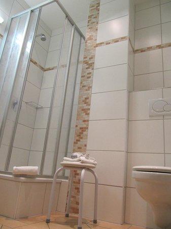 Hotel Sprenz: Bathroom