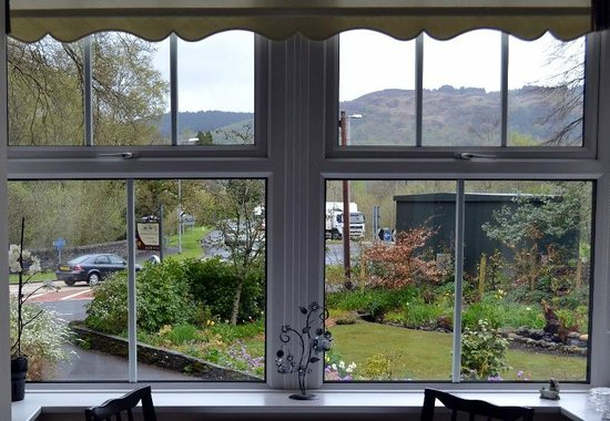 Lyndhurst Country House: Garden from breakfast table